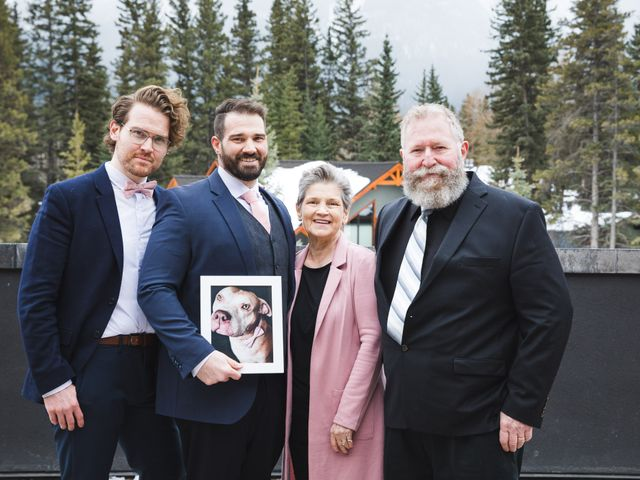 Shawn and Kaley's wedding in Canmore, Alberta 76