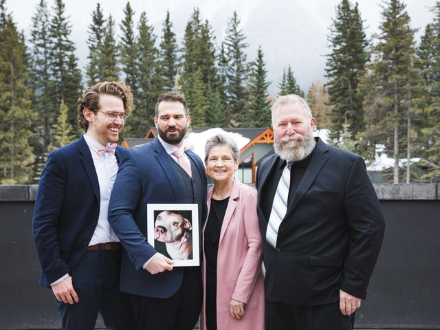 Shawn and Kaley's wedding in Canmore, Alberta 77