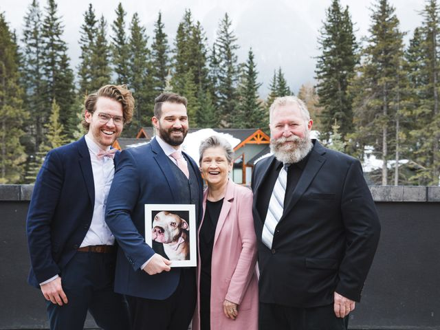 Shawn and Kaley's wedding in Canmore, Alberta 78