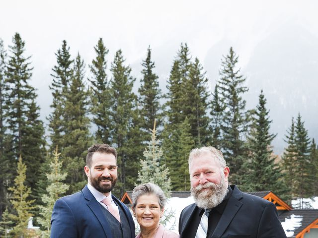 Shawn and Kaley's wedding in Canmore, Alberta 79