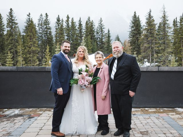 Shawn and Kaley's wedding in Canmore, Alberta 80