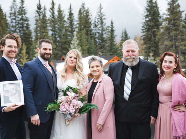 Shawn and Kaley's wedding in Canmore, Alberta 81