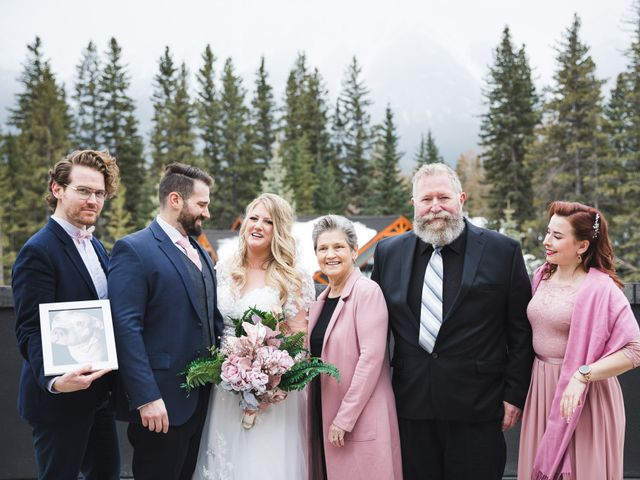 Shawn and Kaley's wedding in Canmore, Alberta 82