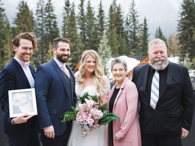 Shawn and Kaley's wedding in Canmore, Alberta 83