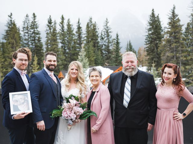 Shawn and Kaley's wedding in Canmore, Alberta 84