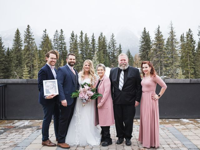 Shawn and Kaley's wedding in Canmore, Alberta 86