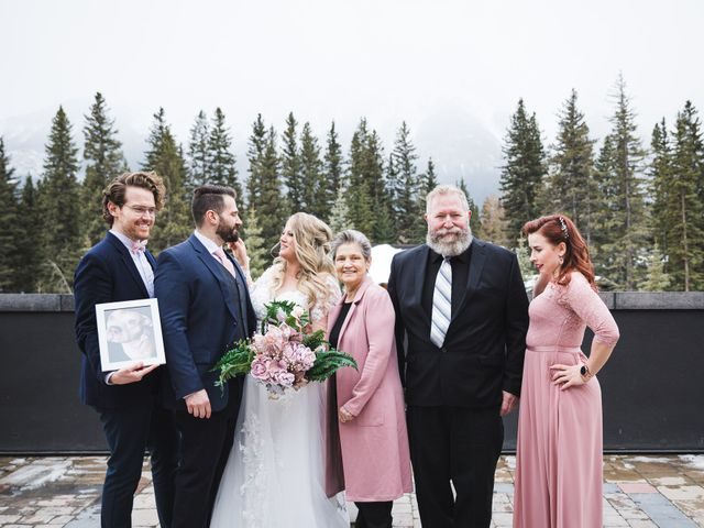 Shawn and Kaley's wedding in Canmore, Alberta 87