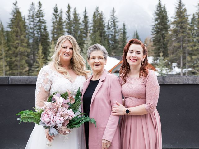 Shawn and Kaley's wedding in Canmore, Alberta 89