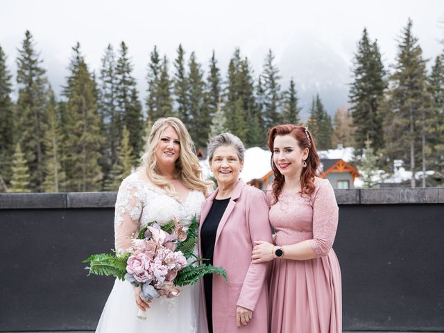 Shawn and Kaley's wedding in Canmore, Alberta 90