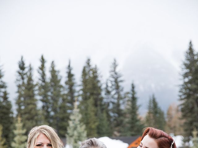 Shawn and Kaley's wedding in Canmore, Alberta 91