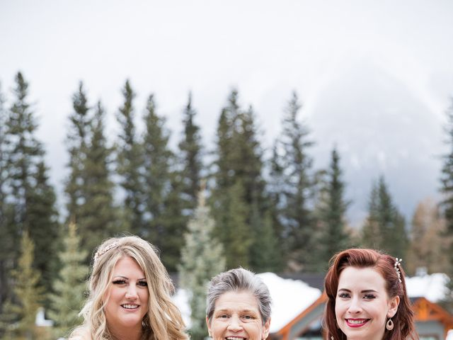 Shawn and Kaley's wedding in Canmore, Alberta 92