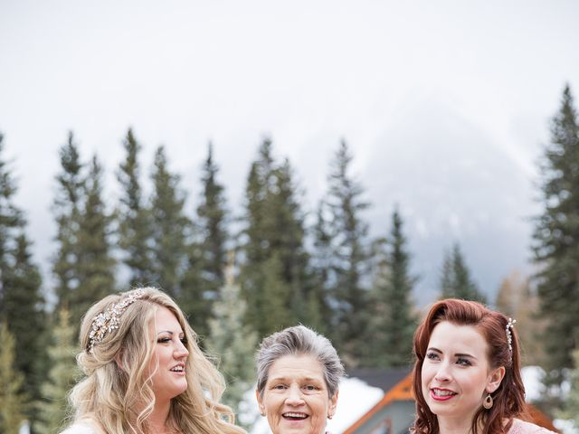 Shawn and Kaley's wedding in Canmore, Alberta 93
