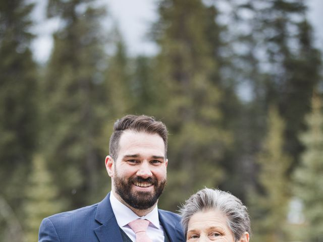 Shawn and Kaley's wedding in Canmore, Alberta 100