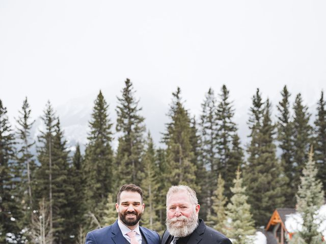Shawn and Kaley's wedding in Canmore, Alberta 102