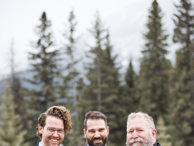 Shawn and Kaley's wedding in Canmore, Alberta 105