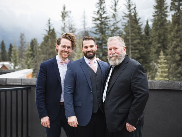 Shawn and Kaley's wedding in Canmore, Alberta 108