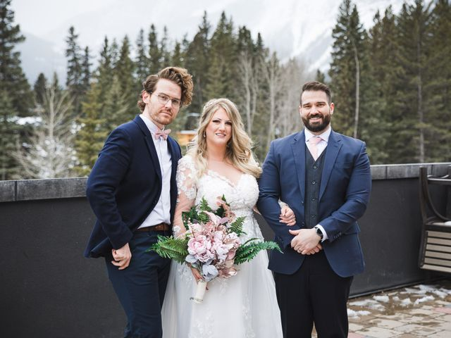 Shawn and Kaley's wedding in Canmore, Alberta 109