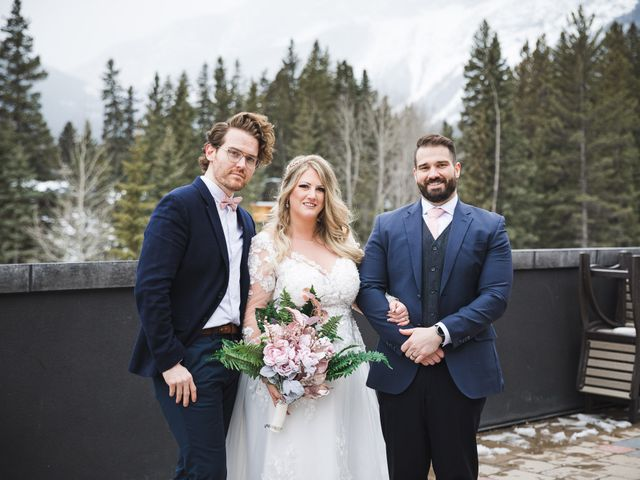 Shawn and Kaley's wedding in Canmore, Alberta 110