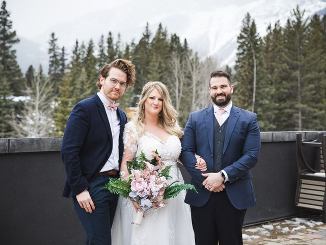 Shawn and Kaley's wedding in Canmore, Alberta 111