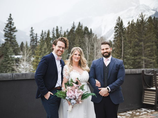 Shawn and Kaley's wedding in Canmore, Alberta 112