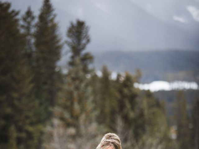 Shawn and Kaley's wedding in Canmore, Alberta 114