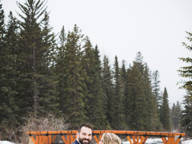 Shawn and Kaley's wedding in Canmore, Alberta 135