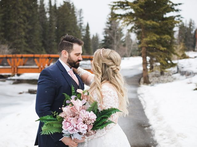Shawn and Kaley's wedding in Canmore, Alberta 141