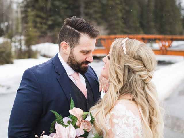 Shawn and Kaley's wedding in Canmore, Alberta 142