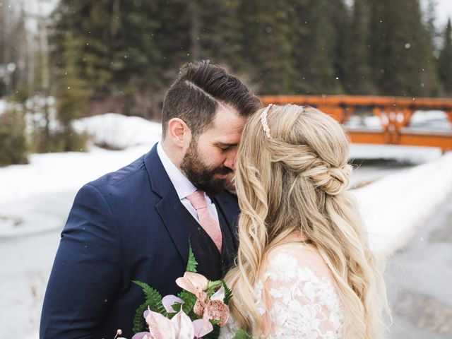 Shawn and Kaley's wedding in Canmore, Alberta 144