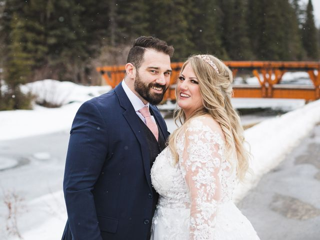 Shawn and Kaley's wedding in Canmore, Alberta 145