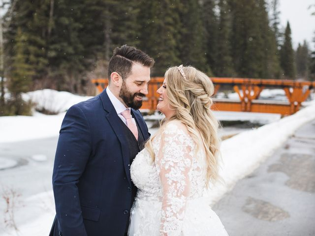 Shawn and Kaley's wedding in Canmore, Alberta 146