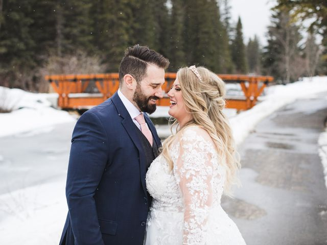 Shawn and Kaley's wedding in Canmore, Alberta 147