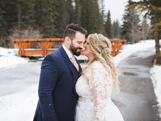 Shawn and Kaley's wedding in Canmore, Alberta 148