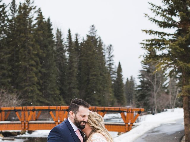 Shawn and Kaley's wedding in Canmore, Alberta 149