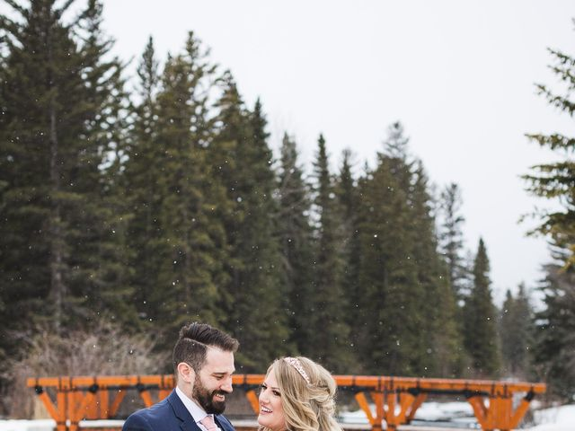 Shawn and Kaley's wedding in Canmore, Alberta 150
