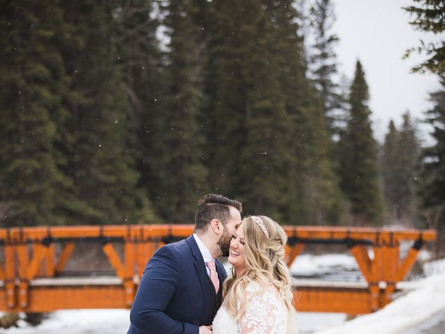 Shawn and Kaley's wedding in Canmore, Alberta 153
