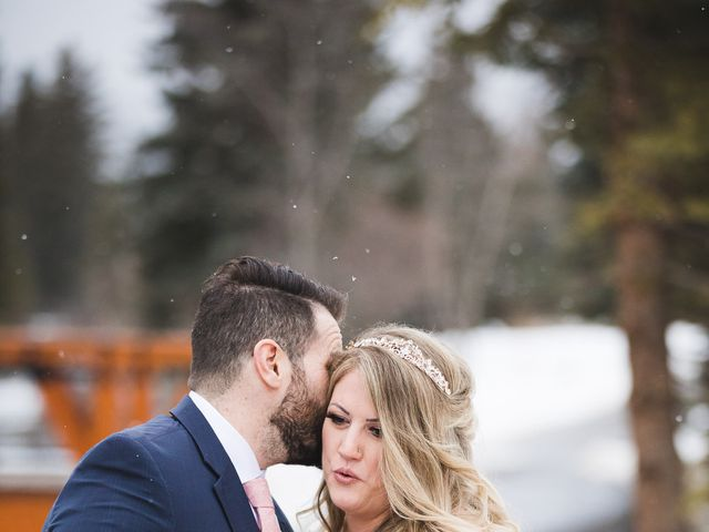 Shawn and Kaley's wedding in Canmore, Alberta 156