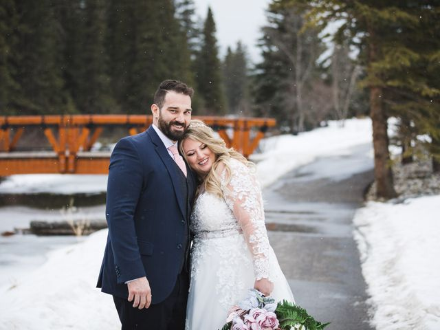 Shawn and Kaley's wedding in Canmore, Alberta 160