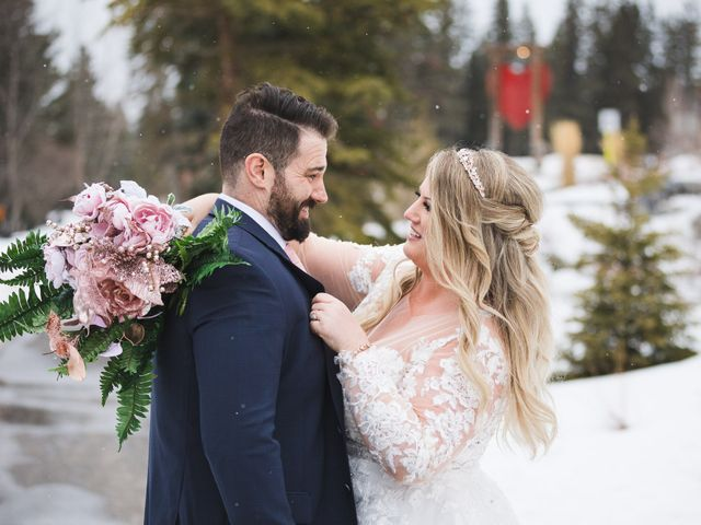 Shawn and Kaley's wedding in Canmore, Alberta 162