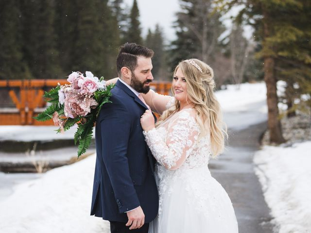 Shawn and Kaley's wedding in Canmore, Alberta 163