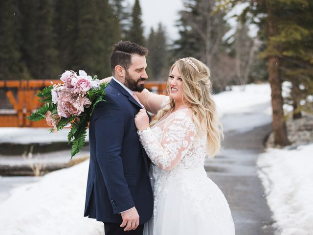 Shawn and Kaley's wedding in Canmore, Alberta 164