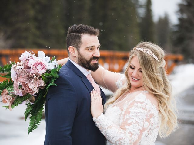 Shawn and Kaley's wedding in Canmore, Alberta 166