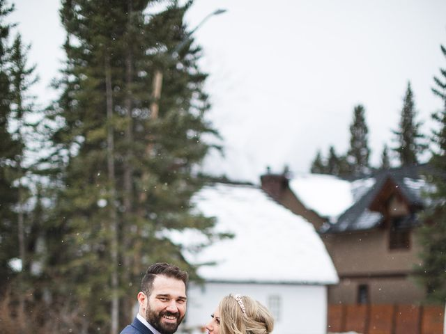 Shawn and Kaley's wedding in Canmore, Alberta 169