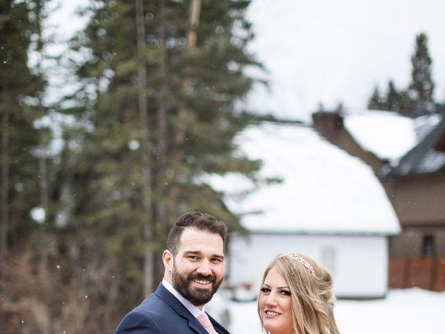 Shawn and Kaley's wedding in Canmore, Alberta 170
