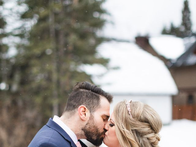 Shawn and Kaley's wedding in Canmore, Alberta 175