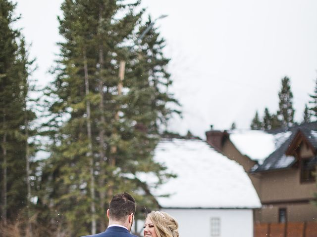 Shawn and Kaley's wedding in Canmore, Alberta 180