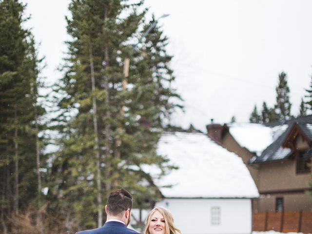 Shawn and Kaley's wedding in Canmore, Alberta 182