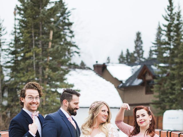 Shawn and Kaley's wedding in Canmore, Alberta 197