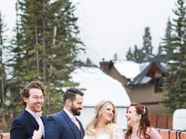 Shawn and Kaley's wedding in Canmore, Alberta 198