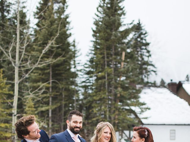 Shawn and Kaley's wedding in Canmore, Alberta 202